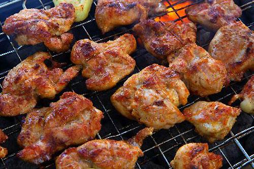 Маринованная курица для шашлыка