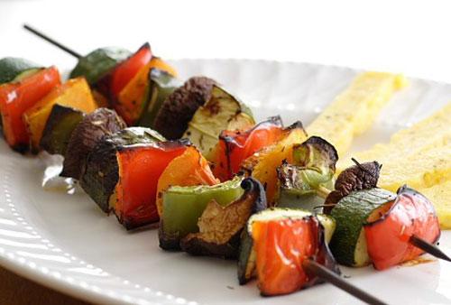 шашлык из овощей рецепты