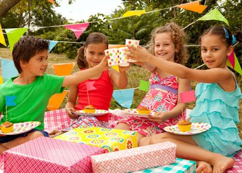 День рождения для детей на природе 55