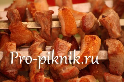 Красный шашлык из свинины